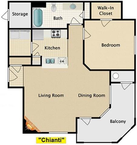 Floor Plan  Chianti