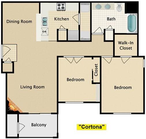 Floor Plan  Cortona