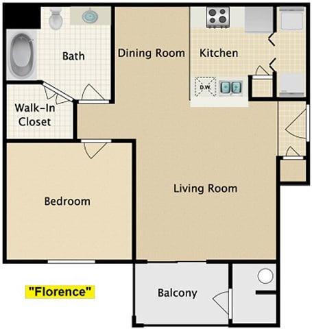 Floor Plan  Florence