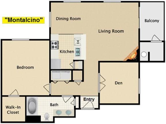 Floor Plan  Montalcino