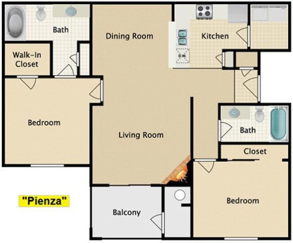 Floor Plan  Pienza