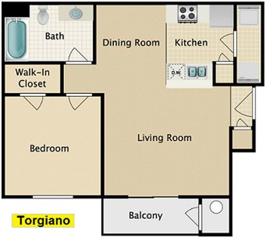 Floor Plan  Torgiano