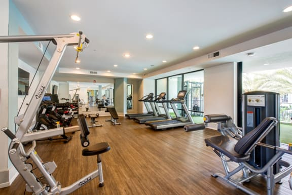 24-Hour Fitness Center at Accent, Los Angeles, CA