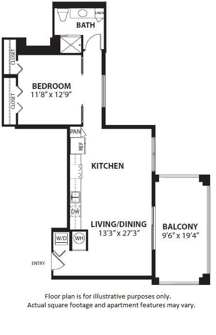 Floor Plan  A4 floor plan at Windsor at Doral, Doral, FL