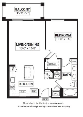 Floor Plan  Floorplan at Windsor at Doral,4401 NW 87th Avenue, Miami, 33178