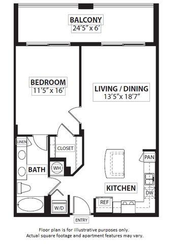 Floor Plan  Floorplan at Windsor at Doral, Miami,FL 33178