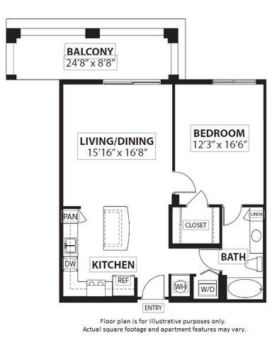 Floor Plan  Floorplan at Windsor at Doral,4401 NW 87th Avenue, 33178