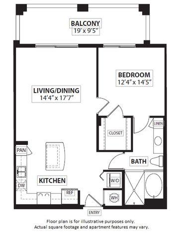 Floor Plan  Floorplan at Windsor at Doral,4401 NW 87th Avenue, Miami