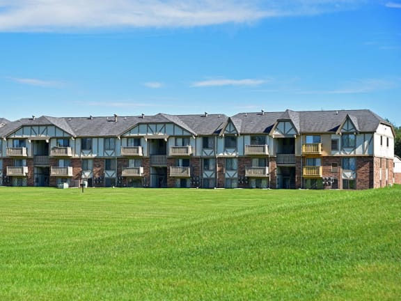 Amazing green views at Huntington Place Apartments in Essexville, MI