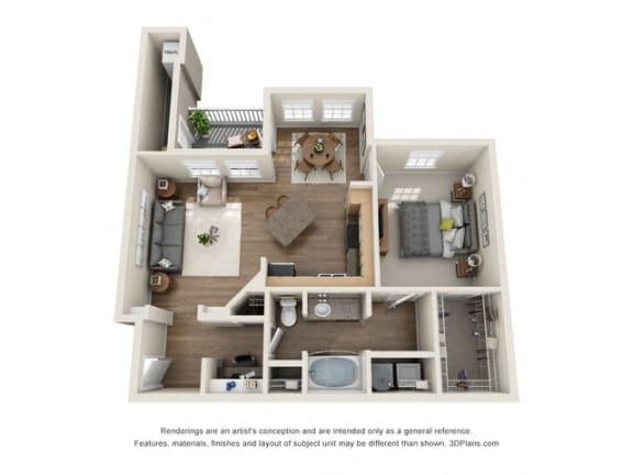 Floor Plan  Aruba Floor plan at The Club of the Isle, Texas, 77554
