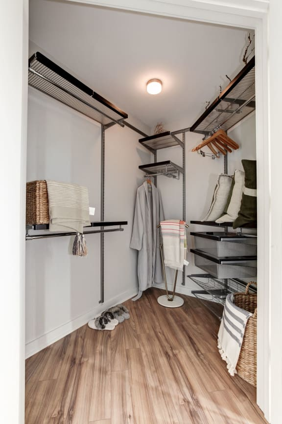 Walk-In Closets And Dressing Areas at Element 28, Bethesda, MD