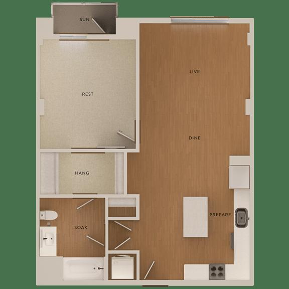 Floor Plan  floorplan The Martson 94063