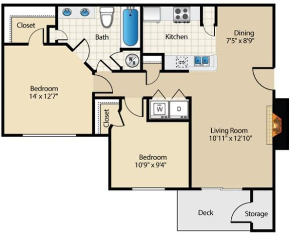 Boxmere Floor Plan at Wyndchase at Aspen Grove, Franklin
