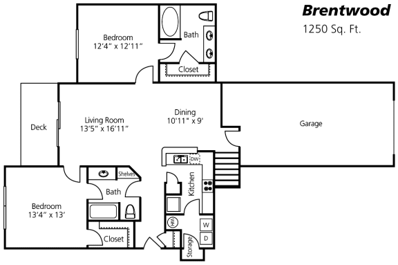 Brentwood Renovated Floor Plan at Wyndchase at Aspen Grove, Franklin, Tennessee