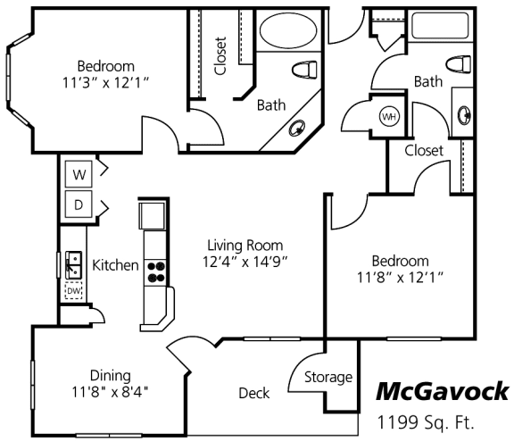 McGavock Floor Plan at Wyndchase at Aspen Grove, Franklin, 37067