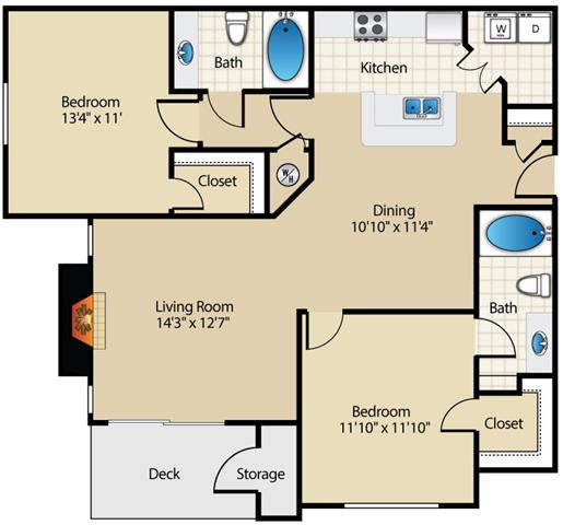 Mooreland Floor Plan at Wyndchase at Aspen Grove, Tennessee