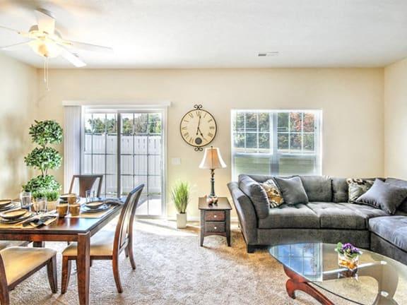 Bright Living Room at Collett Woods