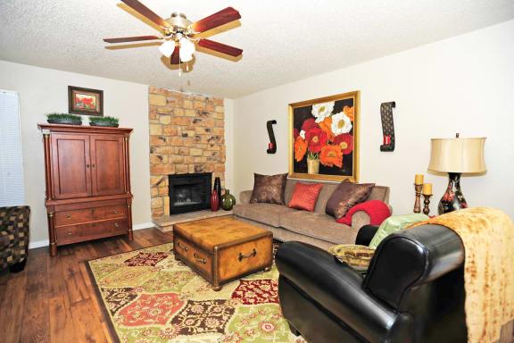 Hardwood Flooring at Summit Ridge Apartments, Temple, Texas