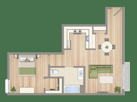 Floor Plan  Luxe@1430_unit_F-copy