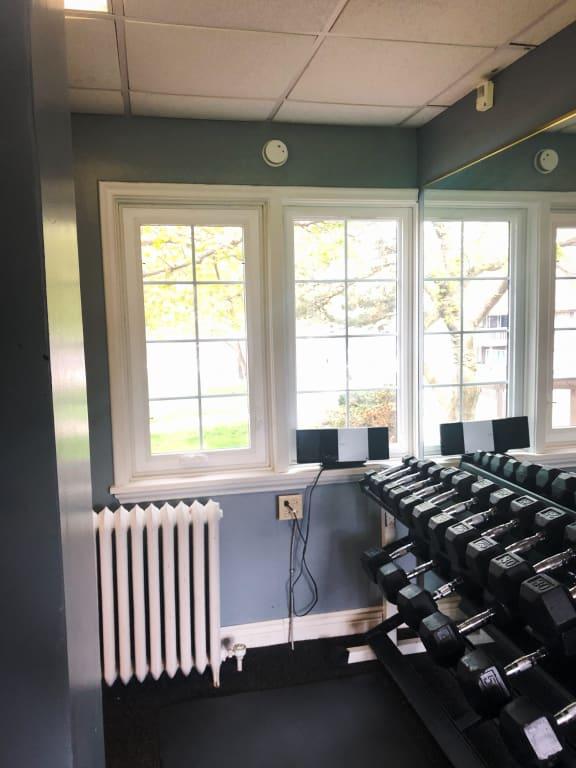 Modern Fitness Center at Candlewyck Apartments, Kalamazoo