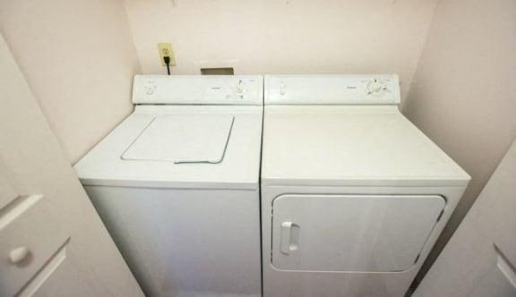 In-Home Washer & Dryer at Walnut Creek Apartments, Kokomo, Indiana