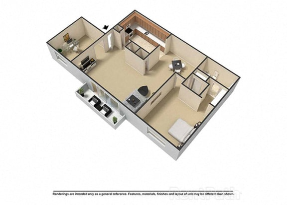 1 2 3 Bedroom Apartments In Indianapolis In Waterstone Place