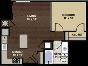 Kenilworth Floor Plan at Berkshire Dilworth, North Carolina