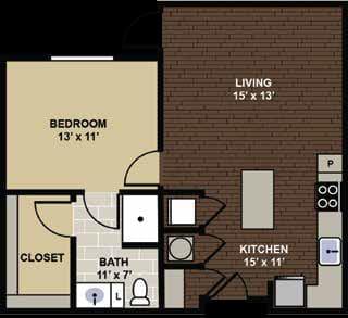 Kingston Floor Plan at Berkshire Dilworth, North Carolina, 28204