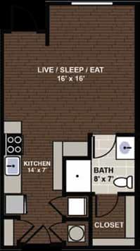 Lennox Floor Plan at Berkshire Dilworth, Charlotte, 28204