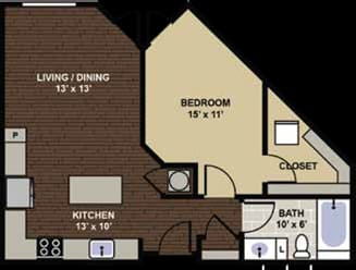 Lexington Floor Plan at Berkshire Dilworth, Charlotte, North Carolina