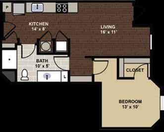 Springdale Floor Plan at Berkshire Dilworth, North Carolina, 28204