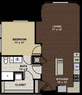 Tremont Floor Plan at Berkshire Dilworth, Charlotte, NC