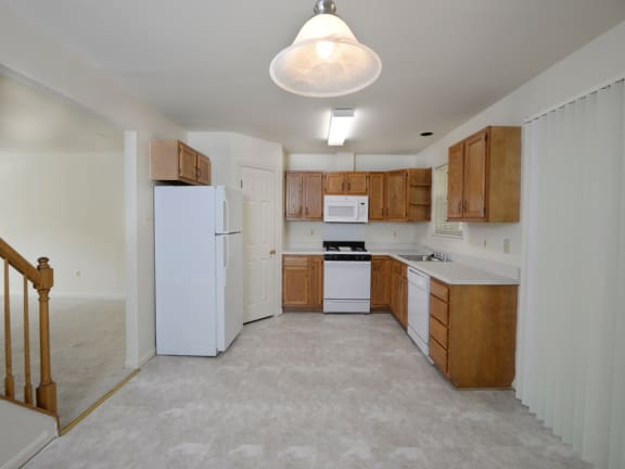 Large Eat In Kitchen at Carlson Woods Townhomes