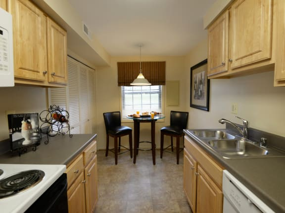 Chapel Valley Townhomes Eat In Kitchen