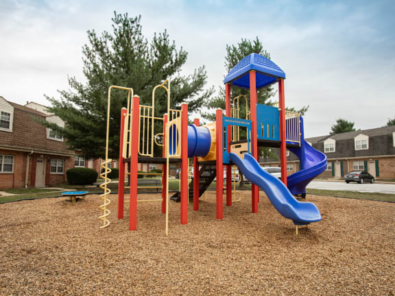 New playground at Somerset Woods Townhomes