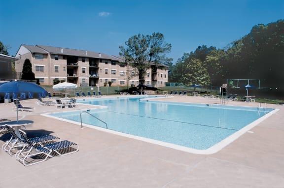 Poolside Sundeck at Woodridge Apartments, 3901 Noyes Circle, Randallstown, 21133