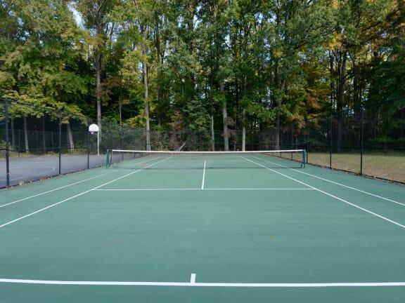 Tennis Court at Woodsdale Apartments, Abingdon, 21009