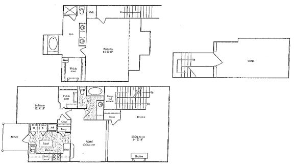 Floor Plan  I Floorplan at Marquette at Preston Park, Plano, TX, 75093