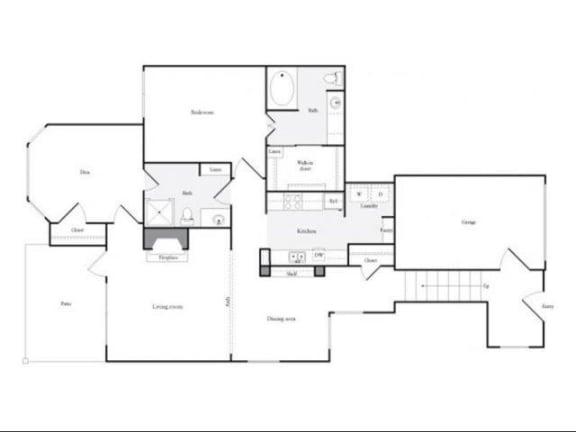 Floor Plan  F Floorplanat Marquette at Preston Park, Plano, TX, 75093
