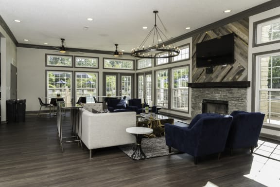 Fully Remodeled Resident Clubhouse at Fairlane Woods Apartments, Dearborn, MI, 48126