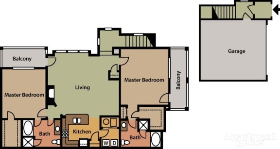 Floor Plan  Double Master