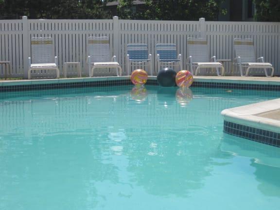 Heated Pool at Three Oaks Apartments, MI