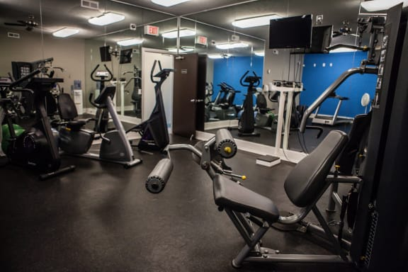 Fitness Center at Dover Hills Apartments in Kalamazoo, MI 48185