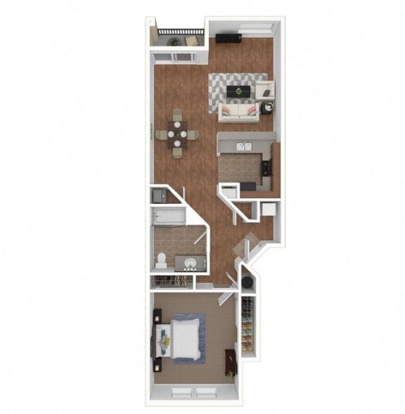 Floor Plan  Zoom of The Marbella floor plan at Legends at Rancho Belago, Moreno Valley, 92553