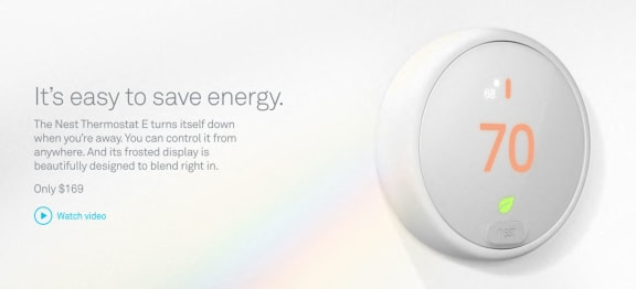 Nest Thermostat at Legends at Rancho Belago, Moreno Valley, California
