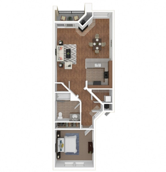 Floor Plan  The Costa floor plan at Legends at Rancho Belago, CA, 92553