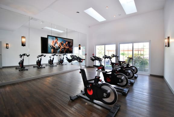 Well Beats On-Demand Fitness Room at The Haven of Ann Arbor, Ann Arbor