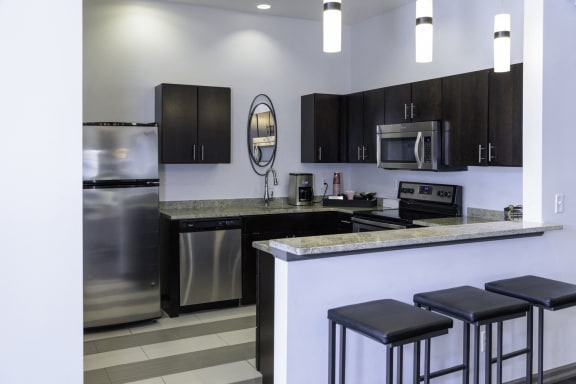 Fully Equipped kitchen at The Haven of Ann Arbor, Ann Arbor, MI, 48105
