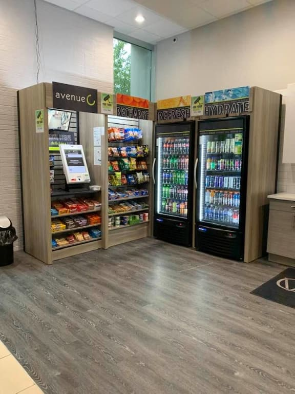 Fridges and Vending Machines at CityView on Meridian
