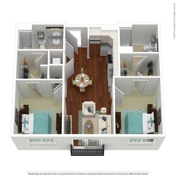 South Sixteen The Whitmore Floorplan